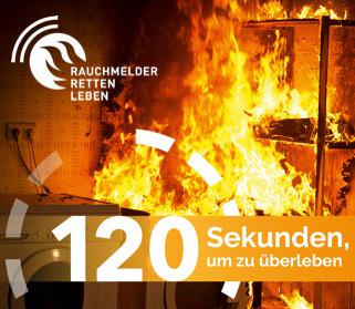 Rauchmelder - Verhalten im Brandfall